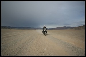 Getting away from the Storms - Mongolia