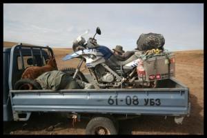 Borken F650GS Dakar - Mongolia