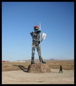 Mongolian Robotic Man - Mongolia
